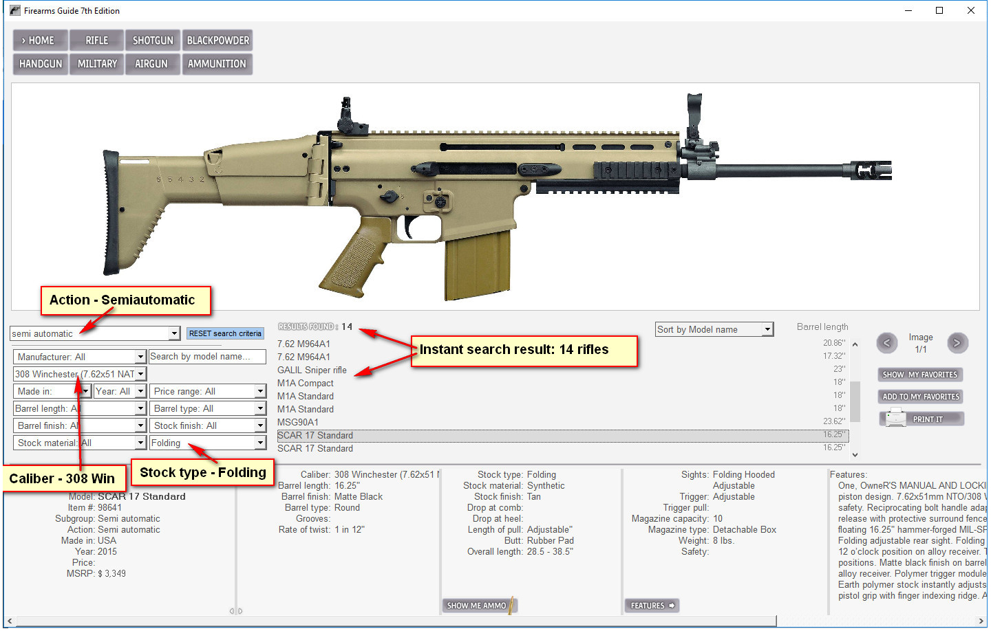 Firearms guide combine more search criteria pooptronica Images