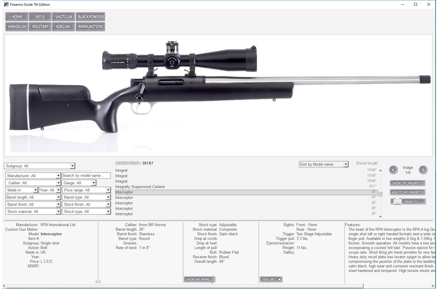 Firearmguide air guns and ammunition from 1000 manufacturers worldwide malvernweather Image collections