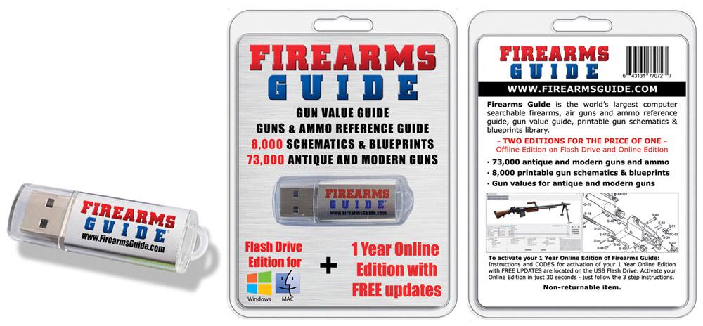 15,000 gun schematics /& manuals Firearms Guide 11th Online /& 9th Flash Combo