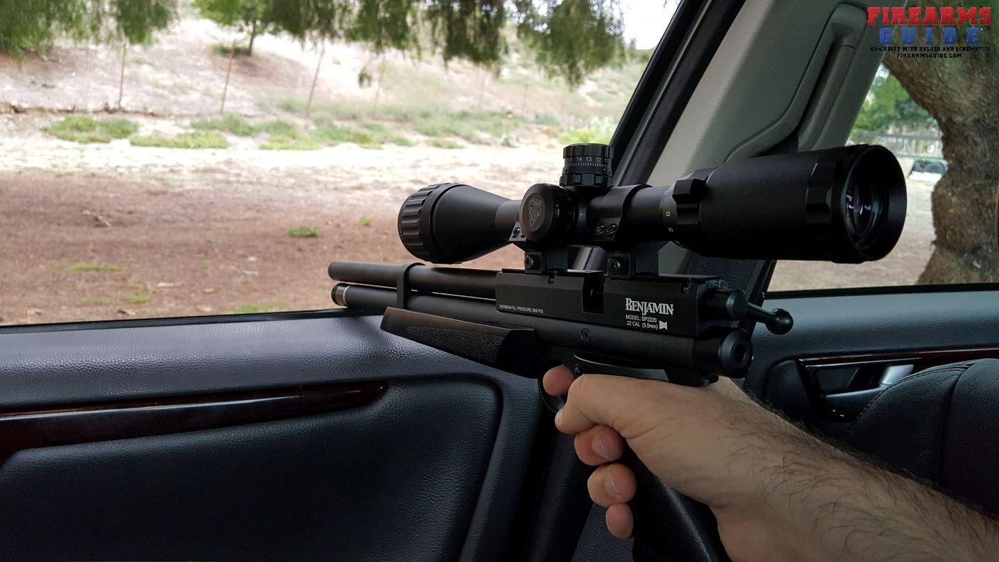 Benjamin Marauder Air Rifle Backyard Range – Fondos de Pantalla